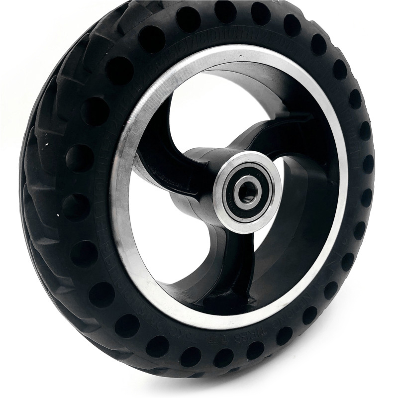 Mobility 200x50 Scooter wheelchair wheels tyre 8x2 inch Solid Tire and alloy wheel hub For Gas Electric Vehicle
