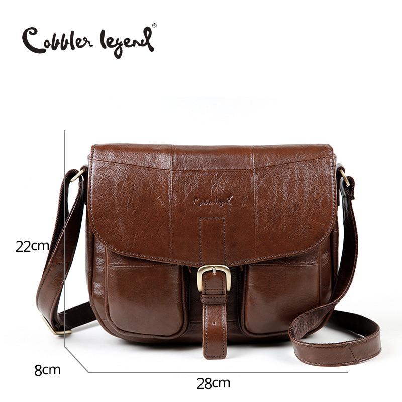 Cobbler Legend 2018 Genuine Leather Women's Shoulder Cross-body Casual WOMEN'S Bag 0700101-1