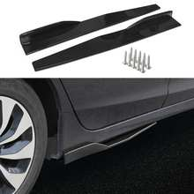 Rocker-Splitters-Diffuser Extension Car-Side-Skirt Fiesta Golf Universal Ford CC MK7