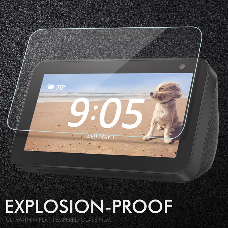 9H Tempered Glass For Amazon Echo Show 8 5 8.0'' Screen Protector For Amazon Echo Show 5 8 8.0 Inch Protective Film Glass Guard