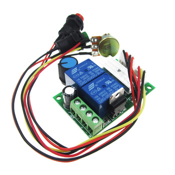 PWM DC 6V 12V 24V 28V 3A motor speed control switch controller PWM motor transformer infinite compatible module board dit kit hot sale dc 12 48v 400w aluminum alloy cnc spindle motor er11 mach3 pwm speed controller mount 3 175mm