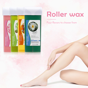 100ML Depilatory Wax Cartridge for Refillable Roll on Wax Heater for Waxing Hair Removal & Depilation & Epilator