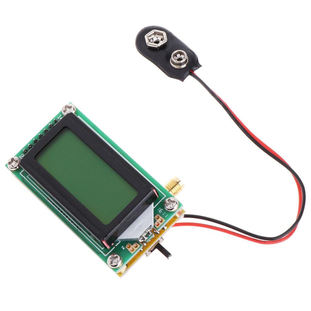 De alta Precisão do Contador de Freqüência do Medidor de RF 1 ~ 500 MHz Tester Módulo Para ham Radio Apoio do Navio da Gota