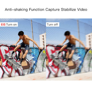 Image 4 - 4K spor eylem kamera ile EIS fonksiyonu 170D WiFi su geçirmez 30M uzaktan kumanda ile harici mikrofon Video kayıt kameralar