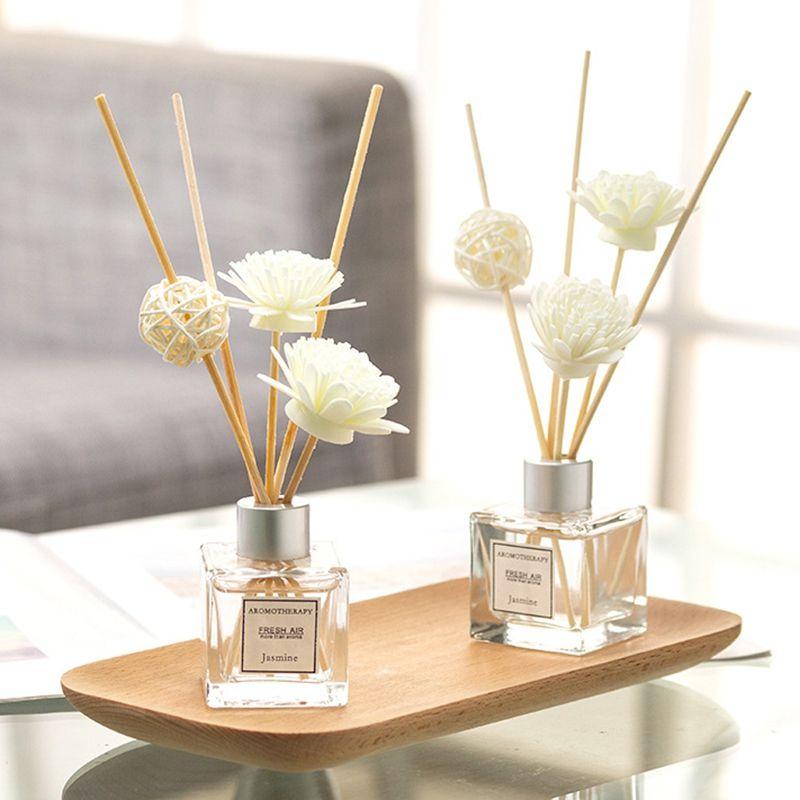 Flameless Aromatherapy Essential Oil Long Lasting Aroma Odor Antiperspirant Air Fresh Fragrance