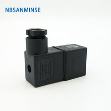 все цены на 20pcs/lot 4V 210X Mini Type Magnetic Valve Coil Electrical Solenoid Valve Coil AC220V DC24V Voltage DIN43650A Valve Coil Sanmin онлайн