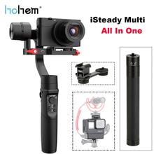 цена на Hohem iSteady Multi 3 Axis Handheld Gimbal Stabilizer for Digital Camera GoPro Hero Osmo Action Camera Yi Cam SJCam Smartphones
