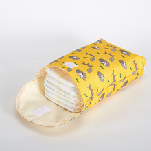 Pielucha dla niemowląt organizator do torby wielokrotnego użytku przenośna torba na pieluchy matka i dziecko torba na pieluchy torba na pieluchy mumia torba podróżna torba na pieluchy torba na pieluchy tanie tanio Bez suwaka POLIESTER W wieku 0-6m 7-12m Jedno opakowanie CN (pochodzenie) Unisex 0 06kg 24cm Nadruki z zwierzętami 20cm