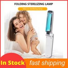 المنزلية الأشعة فوق البنفسجية تطهير بطارية مصباح شحن المحمولة التعقيم UVC التعقيم مصباح