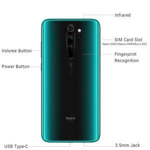 Image 4 - En Stock! Nouveau ROM Global Xiaomi Redmi Note 8 Pro 6GB RAM 128GB ROM 4500mah Smartphone 64MP caméra MTK Helio G90T téléphone portable