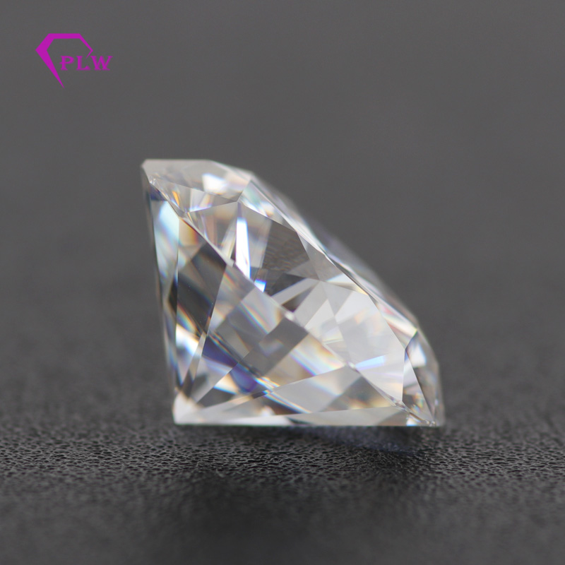 Takı ve Aksesuarları'ten Gevşek Elmas ve Taşlar'de Dahil olmak üzere sertifikası GH renk 7.5mm 1.5ct VVS Lab yetiştirilen Diamanti yuvarlak parlak kesim gevşek moissanite toptan fiyat'da  Grup 2