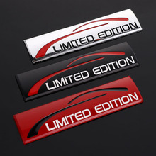 Creative 3D Metal Car Sticker Chrome Limited Edition Emblem Badge Decal For BMW Audi