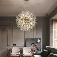 Globe chandelier Lights Crystal De cristal Round Design sputnik chandelier lamp Loft Industrial Retro Home vintage chandelier