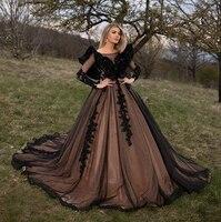 Long Dress Evening Women Elegant Sheer Long Sleeve Ball Gown Dubai Ladies Formal Evening Party Gowns