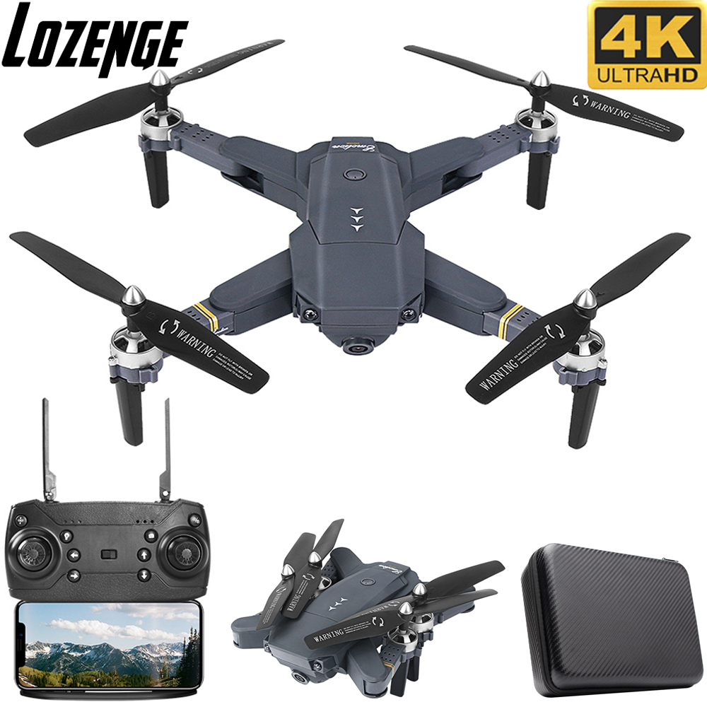 Lozenge XT-1 RC Drone Remote Control Helicopter Quadcopter Drone With Camera 4K Drone Camera Toy Drone With Storage Bag
