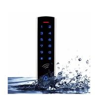 RFID Touch Keypad Access Control System Kit Door Lock 125KHz EM Card Waterproof Metal Case Luminous For Door Entry F1289D
