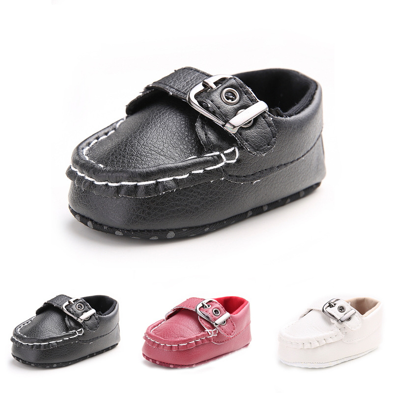 Spring Baby Boy Shoes PU Leather First Walkers Baby Girl Toddler Shoes Soft Sole Newborn Shoes Baby Schoenen