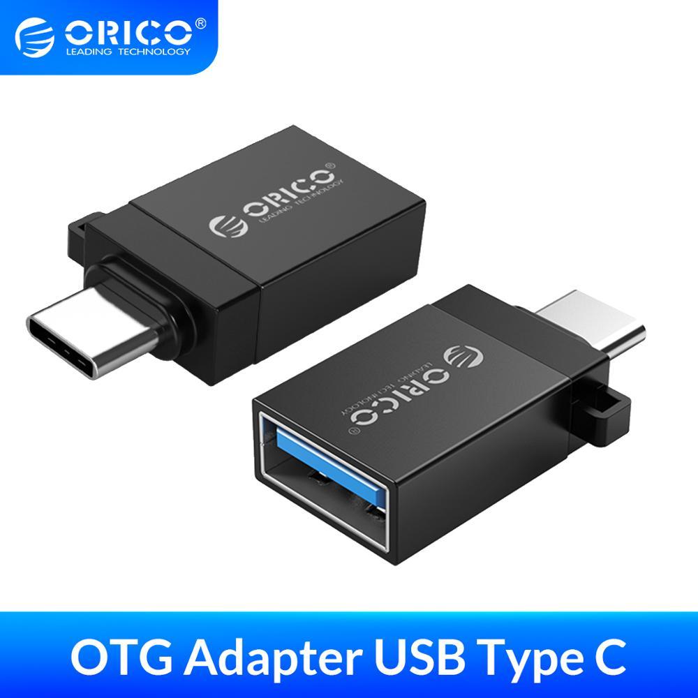 Orico otg adaptador micro b para usb 3.0 conversor usb3.0 5 gpbs adaptador liga de alumínio conectar telefone inteligente tablet para u disco mouse