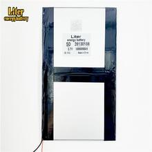 Планшетный ПК talk9x u65gt, аккумулятор 28130188, 3,7 в, 10000 мАч, литий ионная батарея, обычная батарея для планшетного компьютера3.7v 10000battery for tablet pc10000 mah 3.7v  АлиЭкспресс