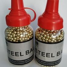 2bottle1500Qty 4,5 мм углеродистая сталь с латунным покрытием точность BBS гранулы Патроны Упаковка для бутылок