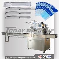 fresh aubergines packing machine/flow vegetable wrapping machine