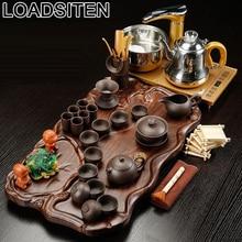 Chic Gongfu Garden Aksesuarlari Pot Kitchen China Kung Fu Mutfak Chinese Home Decoration Accessories Teapot Teaware Tea Set
