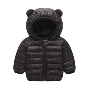 Image 4 - Spring fall Light children winter jackets Kids cotton Down Coat Baby jacket for girls parka Outerwear Hoodies Boy Coat