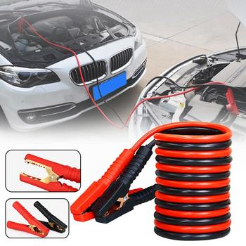 1 Pair 2.5m 1000A Car Battery Emergency Ignition Cable Start Wire Jumpers Booster Cable Car Accessories with Crocodile Clip image