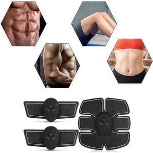 Image 2 - 電気筋肉刺激 ems ワイヤレスヒップ臀部トレーナー腹部腹筋フィット刺激体重減少