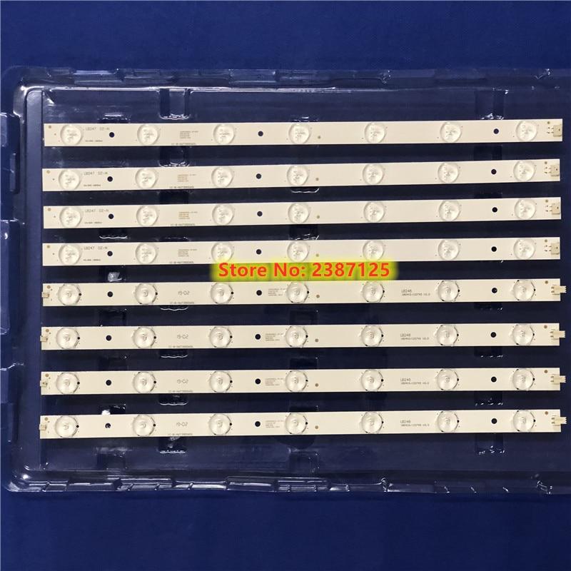 LED backlight strip bar 7+7 lamp for 180-W00-390000H IC-B-HWT39D060L IC-B-HWT39D060R V390HJ1-P02 T390HVN01.0