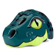 New kids sport safety skating Bicycle Helmet children Scooter dinosaur fully molded Scooters / Skating on helmets with LED
