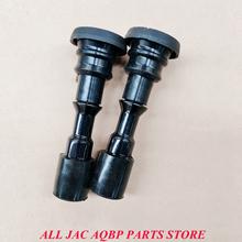 Car parts OE number S1042L21153-50000 for JAC J6 Ignition coil rubber sleeve tanie tanio CHINA Podwójny zapłon cylindrów Otwarte magnetyczne black