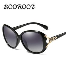 BOOROOT Ladies Polarized Sunglasses Fashion Ladies Fox Style UV400 Anti-Ultraviolet Glasses