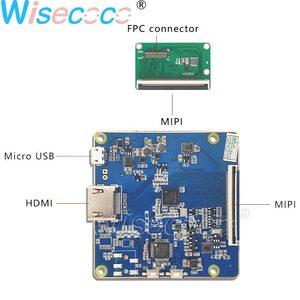 Image 4 - 5.5 אינץ 4k LCD מסך 3840*2160 רזולוציה פנל Lcd תצוגה עם Hdmi כדי Mipi עבור VR 2018 ו Hmd 3D מדפסת diy פרויקט
