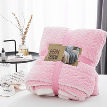 Super Soft Artificial Cashmere Sherpa Blankets Fluffy Flannel Blankets For Beds Thick Warm Winter Bedspread Plush Blankets aibeile 2018 new high quality flannel baby blanket newborn super soft cartoon blankets 100 110 cm for beds thick warm kid