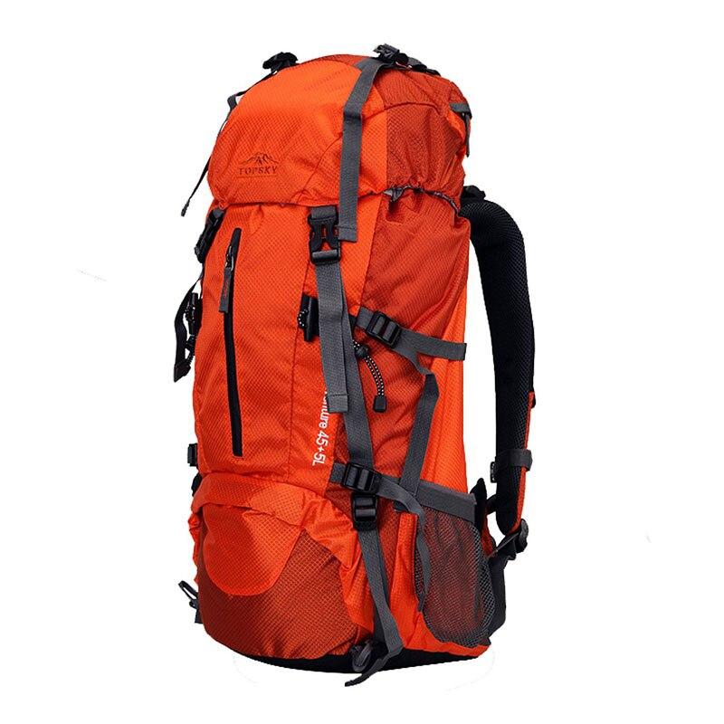 Sac à dos 40L 50L 60L sac de voyage extérieur sac d'alpinisme ultra léger étanche sac à dos d'alpinisme escalade randonnée c - 4