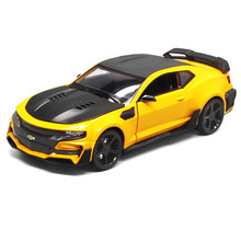 1:24 Car Model Diecast Toy Metal Wheels Chevrolets Mehros Sports Simulation Pull Back Collection Kids Toys Gift