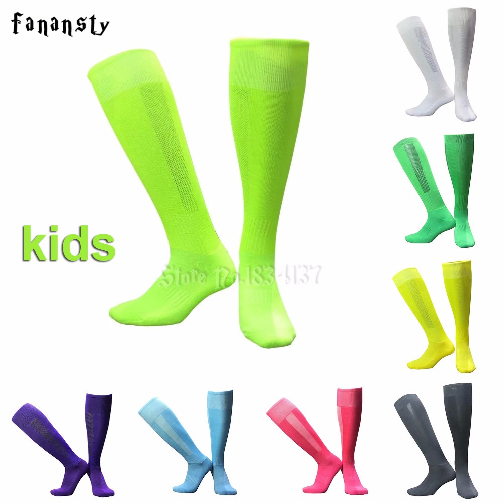 Kids Sports Socks Boys Knee Legging Stockings Soccer Baseball Football Over Knee Ankle Girls Socks 1 Pair Hot Sale Dropshipping