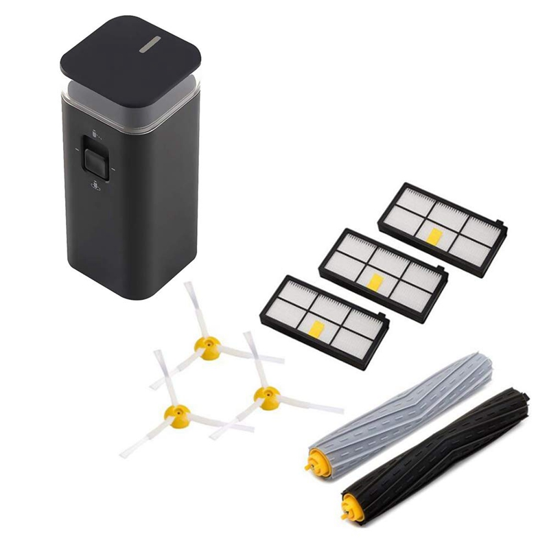 Vacuum Accessories Kits Dual Mode Virtual Navigation Wall Extractor 3 Filters 3 Side Brushes For IRobot Roomba 800 And 900 Serie