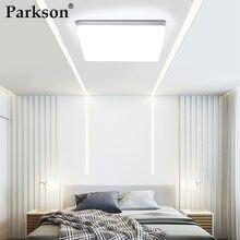 Ultra fino conduziu a luz moderna do painel 6 w 9 w 13 w 18 24 w 36 w 48 w 85-265 v superfície montada luz do quarto da sala de estar
