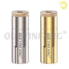 QUEYINFANG Jack 4,4mm Audio Buchse stecker 4,4mm Gold überzogene 5 Pole ausgewogene Weibliche Stecker Kupfer 4,4mm 5-Pole Stecker