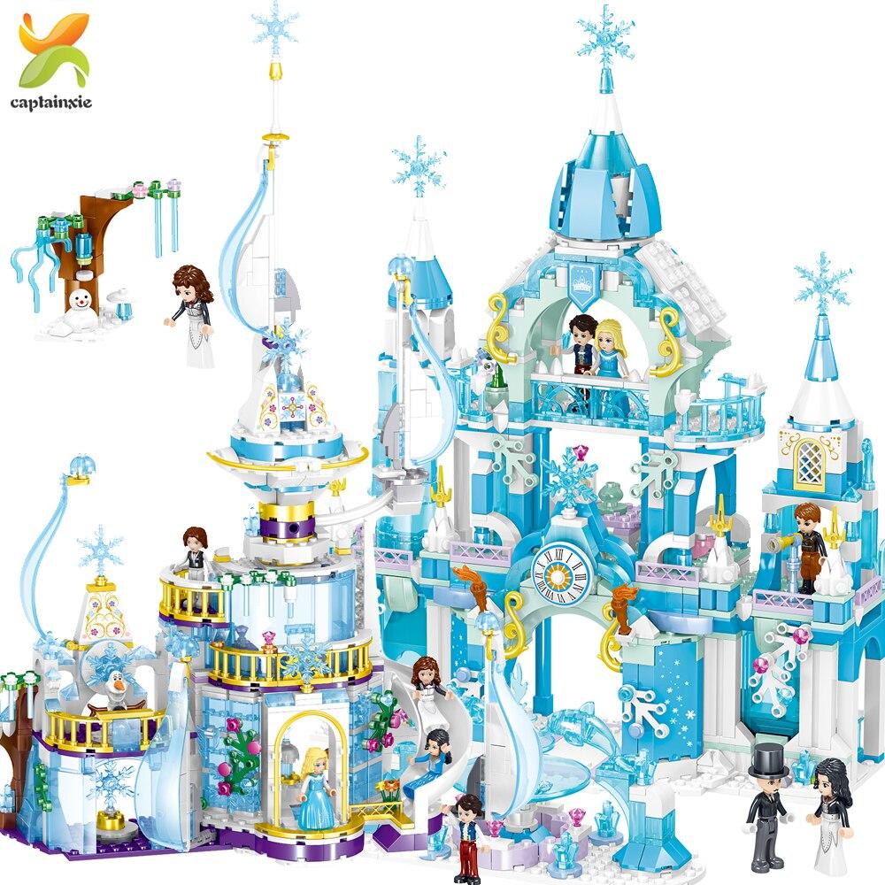 Dream Windsor Princess Castle Building Blocks Compatible Legoingly Friend House Figures Educational Brick Toys For Girl Childen