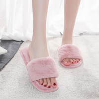 2020 New Arrival Winter Wool Slippers Wool Warm IndoorHome Fur Slippers House Shoes