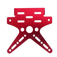 цена на Universal Motorcycle License Plate Holder Aluminum Alloy Mount Bracket Adjustable Registration Number Motobike Tail Light Holder