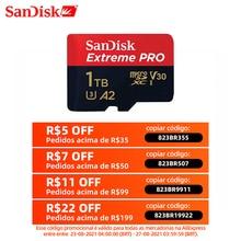 SanDisk Extreme Pro micro sd 64GB 128GB 1TB bellek kartı 512G sınıf 10 cartao de memoria U3 a2 V30 1TB tf flash kart için gopro