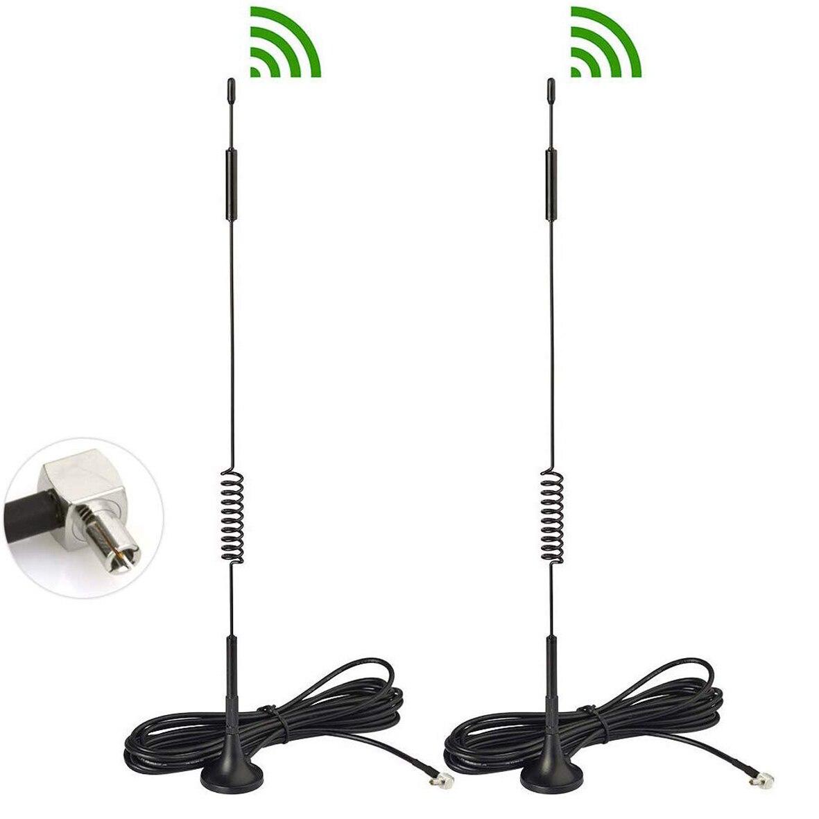4-Pack 4G LTE TS9 Antenna for 4G LTE USB Modem MiFi Mobile WiFi Router Hotspot