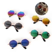 Солнечные очки для домашних животных, очки «кошачий глаз», очки для щенков, реквизит для фотосессии, товары для домашних животных, аксессуары для кошек, рождественские подарки