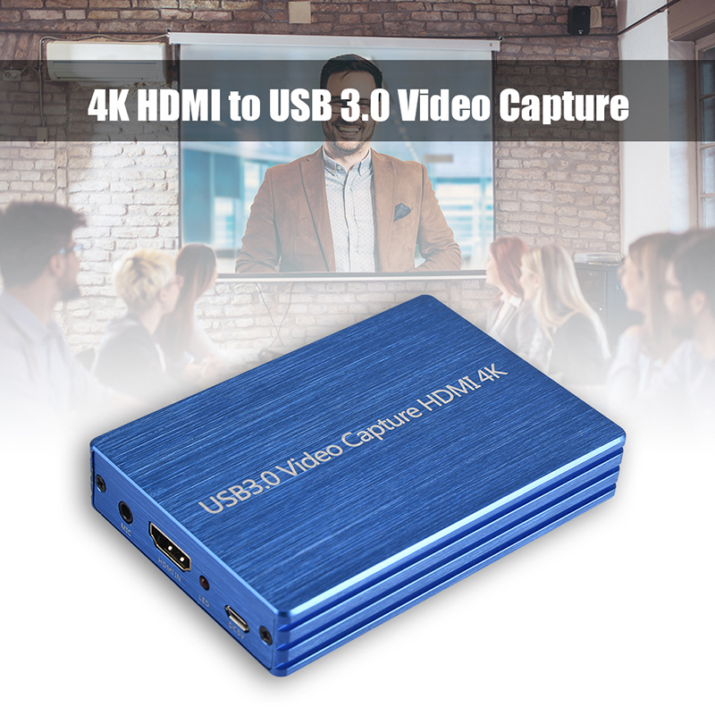 4K/60Hz High Quality Video Game Capture Card, 4Kx2K HD MI To USB3.0 Video Capture Card HD Recorder For HD Camera Live Streaming