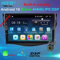 New!! 9'' 2din Android 10 Car DVD Player for Toyota RAV4 Rav 4 2007 2008 2009 2010 2011 Car Radio GPS Navigation Wifi Player