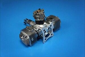 Image 2 - Neue DLE Benzin Motor DLE120 Hinten Auspuff 120CC Für RC Flugzeug